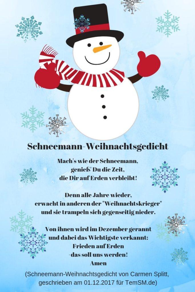 Advents Und Weihnachtsgedichte.Videogruß Schneemann Zur Advents Und Weihnachtszeit